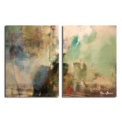 'Smash XVIIII'  2 Piece  Wall Art Set - unframed - AllModern