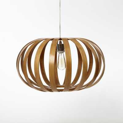 Bentwood Pendant - Oblong - West Elm