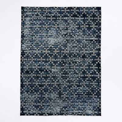 Geo Tufted Wool Rug - West Elm