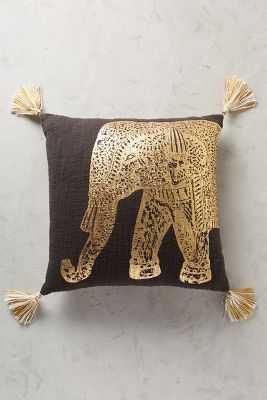 Traveling Elephant Pillow - Anthropologie