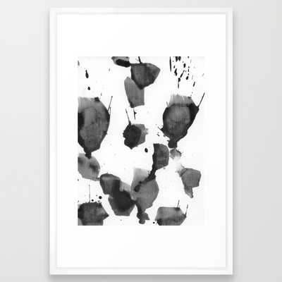 splashes of black - Society6
