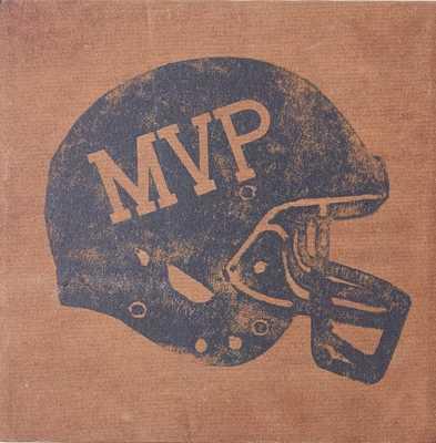 Vintage Sports Canvas - Football MVP - Pottery Barn Teen