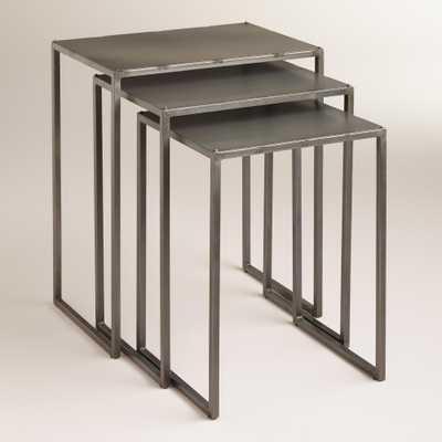 Ashton Nesting Tables, Set of 3 - World Market/Cost Plus