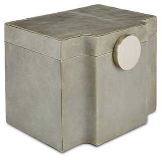 Serpentine Box, Gray - One Kings Lane