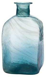 Swirled-Glass Bottle - One Kings Lane