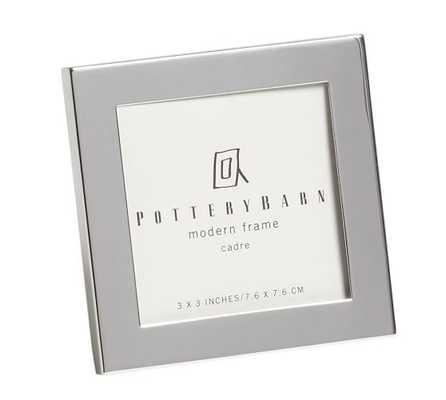Modern Silver-Plated Frames - Pottery Barn