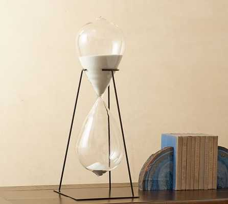 Hourglass on Stand Object - Pottery Barn