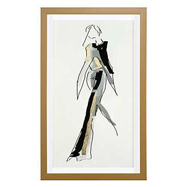 Glamour Gold - 15.75''W x 25.75''H - Gold Frame - Z Gallerie