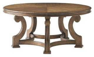 Lance Round Cocktail Table - One Kings Lane