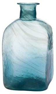 "6"" Swirled-Glass Bottle - One Kings Lane"