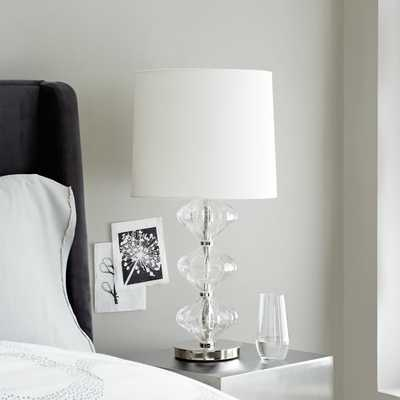 Abacus Table Lamp - Diamond Fluted - West Elm