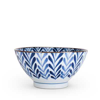 Blue Ferns Bowl - Furbish Studio