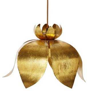 Rigby Lotus Pendant - One Kings Lane