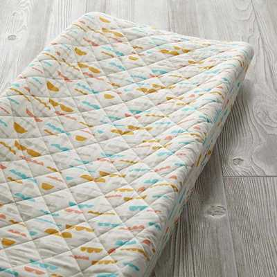 Cloud High Plains Organic Changing Pad Cover - Land of Nod