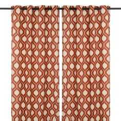 Spice Vanness Curtain Panel Set, 96 in. - kirklands.com
