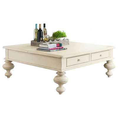 Put Your Feet Up Coffee Table with Lift Top -Linen - Wayfair