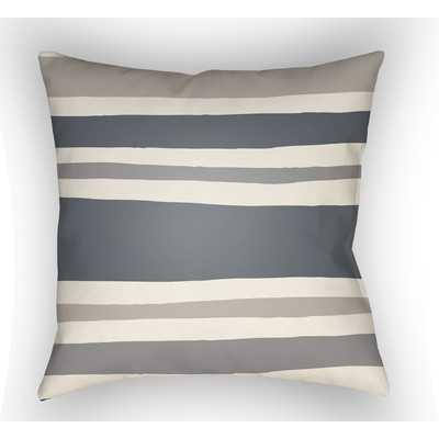 """Littles Throw Pillow - Grey - 18""""x18"""" - Polyfill - Wayfair"""