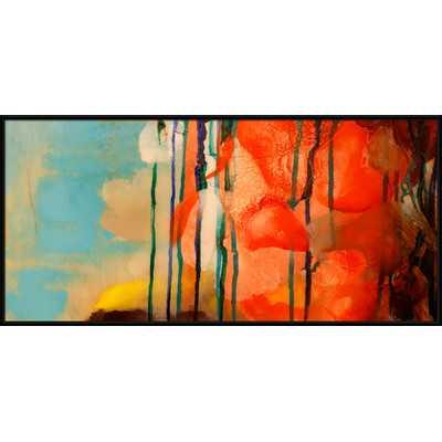 Abstract Giclée Painting Print - 21.65x45.28 - Framed - Wayfair