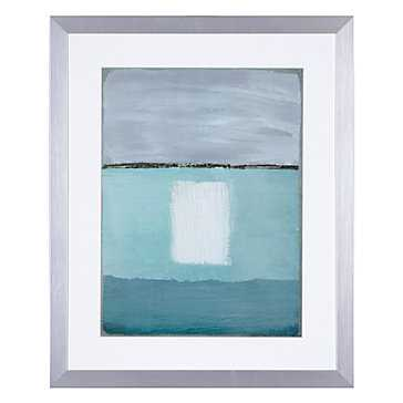 Azure Blue 2 - 26.5x32.5 - Framed - Z Gallerie
