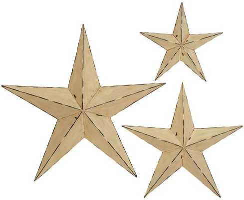 WALL STARS - SET OF 3 - Home Decorators
