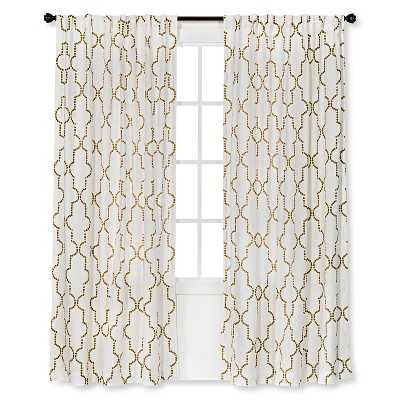 "Thresholdâ""¢ Dot Lattice Curtain Panel - Target"