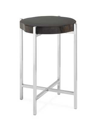 Petrified Wood Accent Table - Williams Sonoma