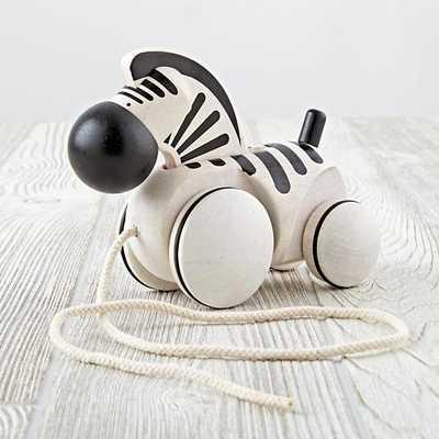 Zebra Pull Toy - Land of Nod