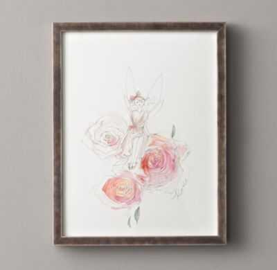 flower fairy illustration (rose) - RH Baby & Child