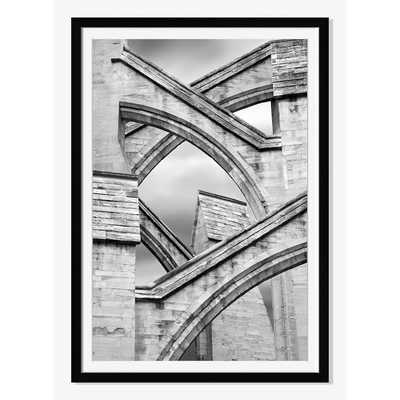 Offset for west elm Print - Flying Buttresses by Jeff Friesen - West Elm