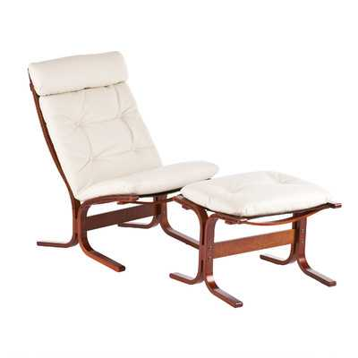 Bently Chair and Ottoman - Wayfair