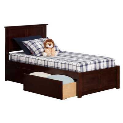 Urban Lifestyle Madison Panel Bed with Storage - Wayfair