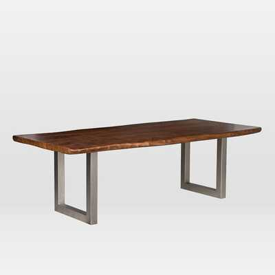 """Live Edge Wood 82"""" Dining Table - West Elm"""