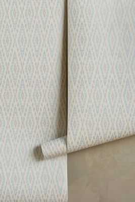 Ikat Rhombus Wallpaper - Anthropologie