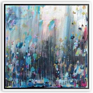 "Michelle Armas, Dark & Stormy - 24"" x 24"" - Framed - One Kings Lane"