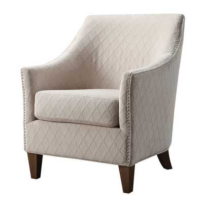 Harvey Lounge Chair - Wembley Buff - Wayfair