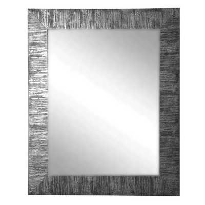 American Made Rayne Silver City Wall Mirror - Overstock