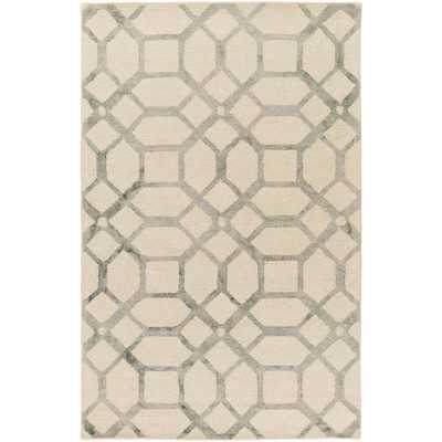 Organic Brittany Hand-Tufted Area Rug - 8x10 - Wayfair
