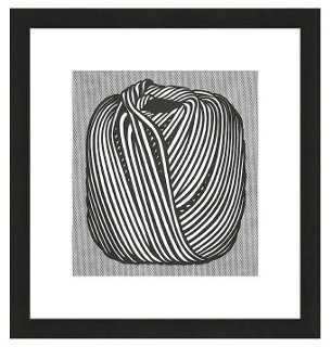 Lichtenstein, Ball of Twine, 1963 - One Kings Lane