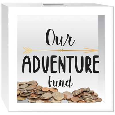 """""""Our Adventure Fund"""" Piggy Bank - AllModern"""