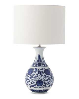 Flair Ginger Jar Table Lamp, Blue and White - Williams Sonoma