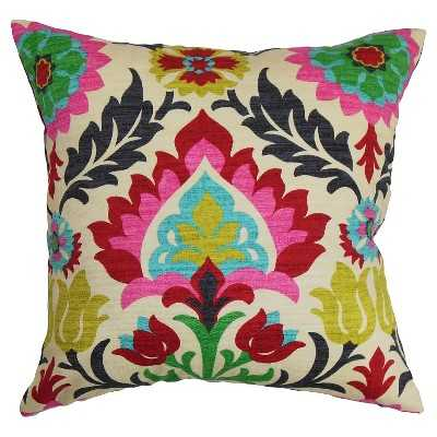 The Pillow Collection Boho Decorative Pillow-18''-Feather insert - Target