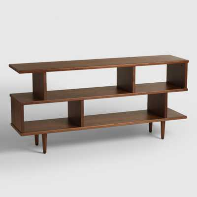 Walnut Brown Wood Ashlyn Bookshelf - World Market/Cost Plus
