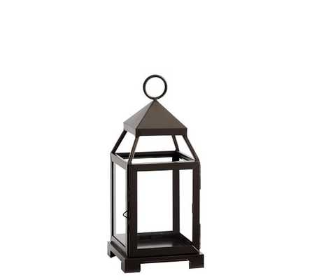 Malta Lanterns - Bronze finish; Small - Pottery Barn
