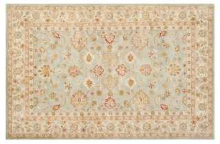 Juno Rug, Gray Blue/Beige - One Kings Lane