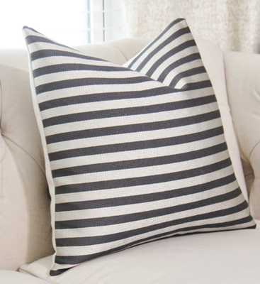 Schumacher Pillow Cover - Black and Silver - 18x18 - - Etsy