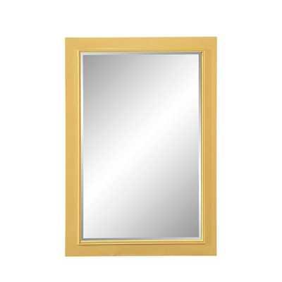 Papila Design Cottage Perfect Yellow Mirror - Bellacor