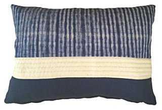 Westcott 14x20 Pillow, Blue-with insert - One Kings Lane