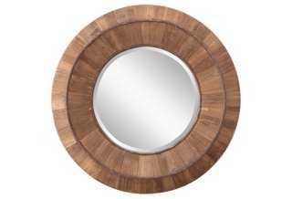 Nancy Wall Mirror, Natural - One Kings Lane
