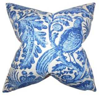Birds 18x18 Cotton Pillow - One Kings Lane