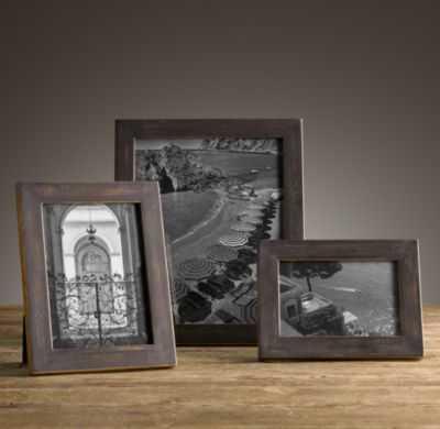 Black & Gold Tabletop Frames - RH